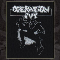 Operation Ivy- Skanking Guy cloth patch (cp264)
