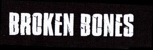Broken Bones- Logo cloth patch (cp280)