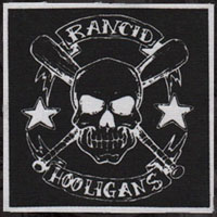 Rancid- Hooligans cloth patch (cp486)