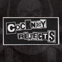Cockney Rejects- Logo cloth patch (cp583) (Sale price!)