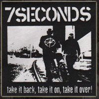 7 Seconds- Take It Back cloth patch (cp593) (Sale price!)
