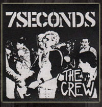 7 Seconds- The Crew cloth patch (cp602)