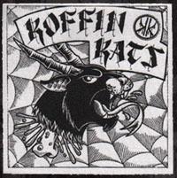 Koffin Kats- Goat Kat cloth patch (cp826)