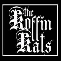 Koffin Kats- Logo sticker (st982)