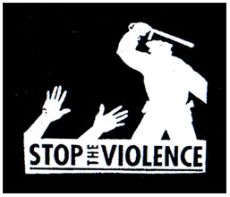 Stop The Violence cloth patch (cp838)