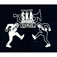 Ska Against Racism cloth patch (cp857)