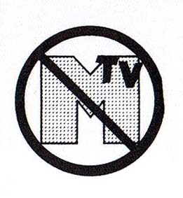 Anti MTV cloth patch (cp879)