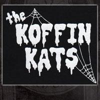 Koffin Kats- Web Logo cloth patch (cp923) (Sale price!)
