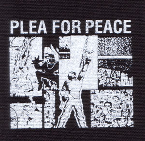 Plea For Peace cloth patch (cp557)