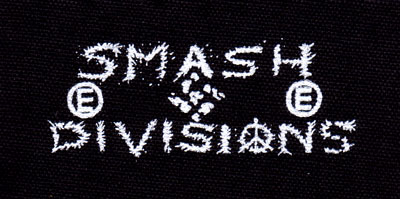 Smash Divisions cloth patch (cp475)