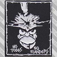 No Todds No Flanders Homebix Embroidered Patch by Thrillhaus (ep757)