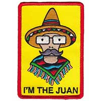 I'm the Juan Embroidered Patch by Thrillhaus (ep460)