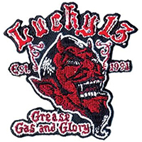 Grease Gas & Glory Patch by Lucky 13 (EP542)
