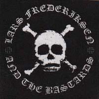Lars Frederiksen & The Bastards- Skull back patch (bp410)