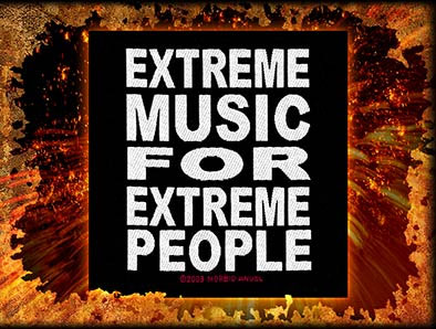 Morbid Angel- Extreme Music For Extreme People Woven Patch (ep887)