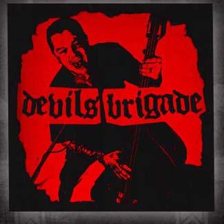 Devils Brigade- Album Cover back patch (bp402)