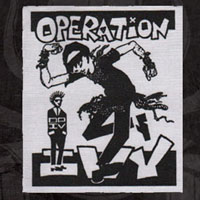 Operation Ivy- Skankin' cloth patch (cp640)