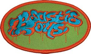 Beastie Boys- Oval Logo embroidered patch (ep286)