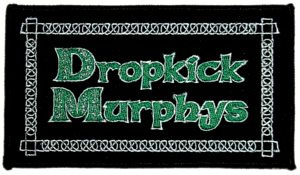 Dropkick Murphys- Logo embroidered patch (ep161)