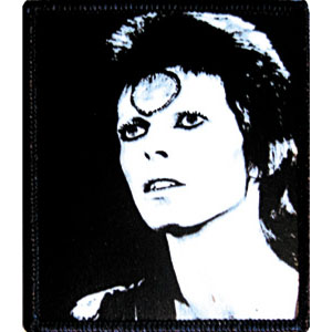 David Bowie- Face embroidered patch (ep160)