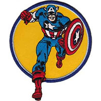 Marvel Comics- Captain America embroidered patch (ep437)