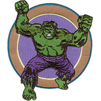 Marvel Comics- The Hulk embroidered patch (ep438)