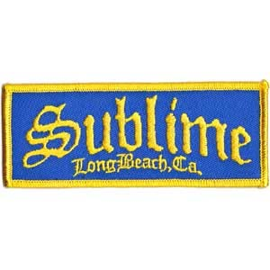 Sublime- Long Beach embroidered patch (ep469)