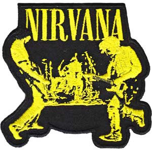 Nirvana- Live Pic embroidered patch (ep152)