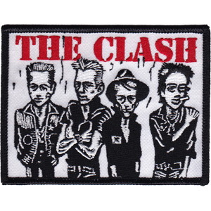 Clash- Band Caricature embroidered patch (ep40)