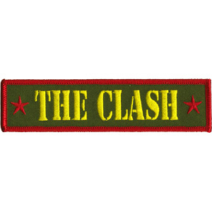Clash- Army Logo embroidered patch (ep325)