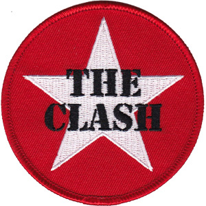 Clash- Star Logo embroidered patch (ep326)