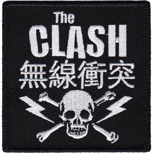 Clash- Skull & Bolts embroidered patch (ep41)