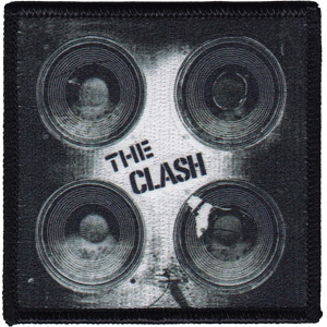 Clash- Speakers embroidered patch (ep42)