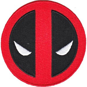 Marvel Comics- Deadpool embroidered patch (ep163)