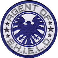 Marvel Comics- Agents Of S.H.I.E.L.D. embroidered patch (ep162)