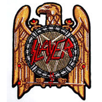 Slayer- Eagle embroidered patch (ep451)