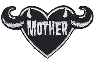 Mother Embroidered Patch by Sourpuss (EP859)