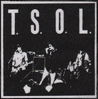 TSOL- Live Pic cloth patch (cp577) (Sale price!)