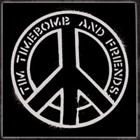 Tim Timebomb- Peace cloth patch (cp579)