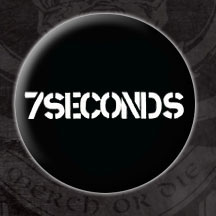 7 Seconds- Logo pin (pinX1)
