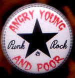 Angry Young And Poor- Star Logo pin (pinA233)