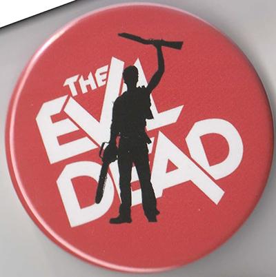 Evil Dead- Silhouette pin
