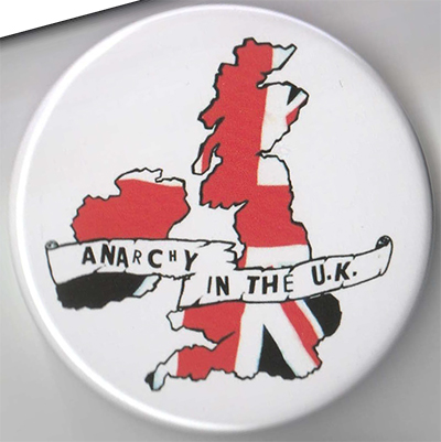 Anarchy In The UK pin (pinZ7)