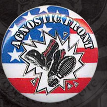 Agnostic Front- Boots & Flag pin (pinX7)