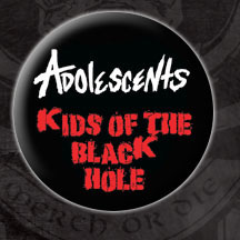 Adolescents- Kids Of The Black Hole pin (pinX4)