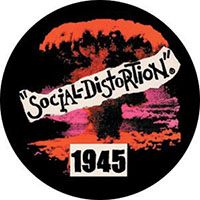 Social Distortion- 1945 pin (pinX234)