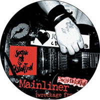 Social Distortion- Mainliner pin (pinX235)