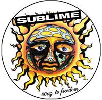 Sublime- Sun pin (pinX212)