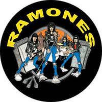 Ramones- Road To Ruin pin (pinX200)
