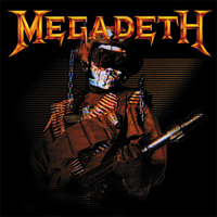 Megadeth- Soldier Square pin (pinX256)